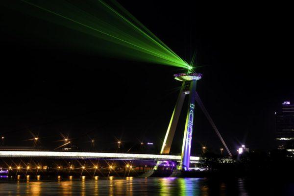 Kvant Laser Outdoor Installationen